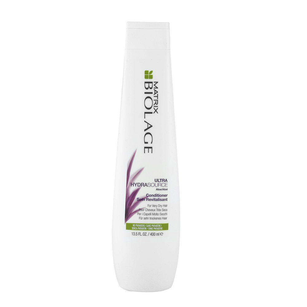 Biolage Ultra Hydrasource Conditioner 400ml Balsamo Idratante Capelli Molto Secchi
