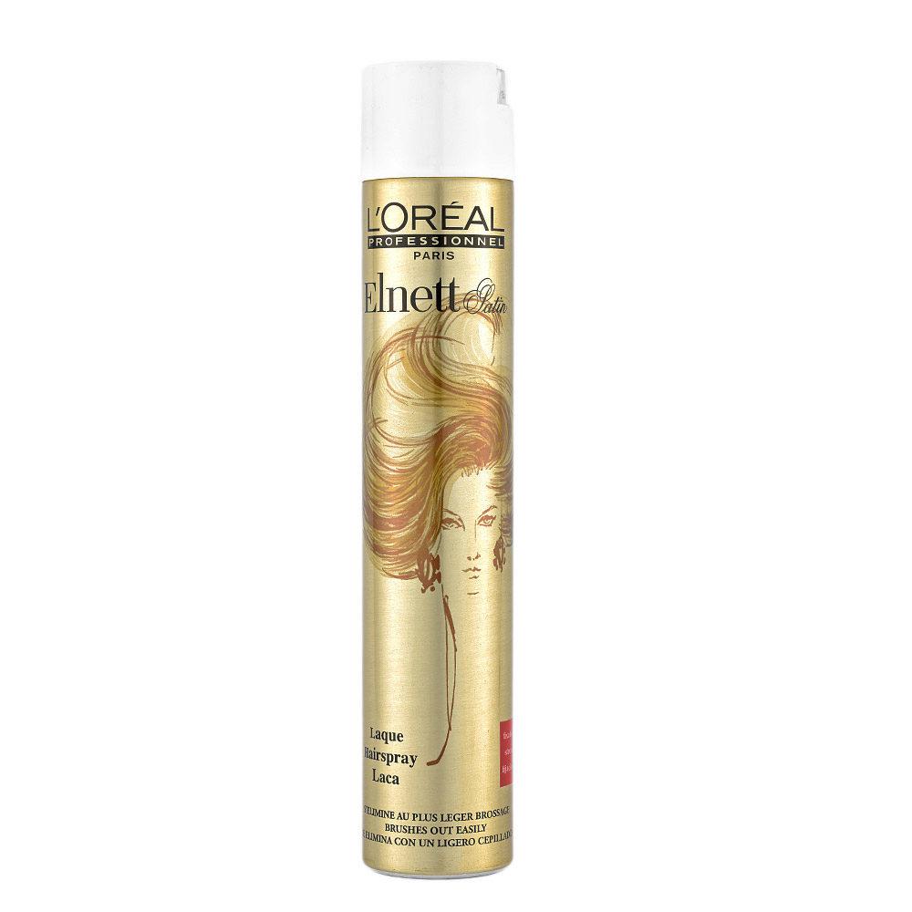 L'Oreal Hairspray Elnett Fissaggio normale 500ml - lacca tenuta leggera