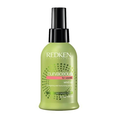 Redken Curvaceous Wind up 145ml - spray riattivatore ricci