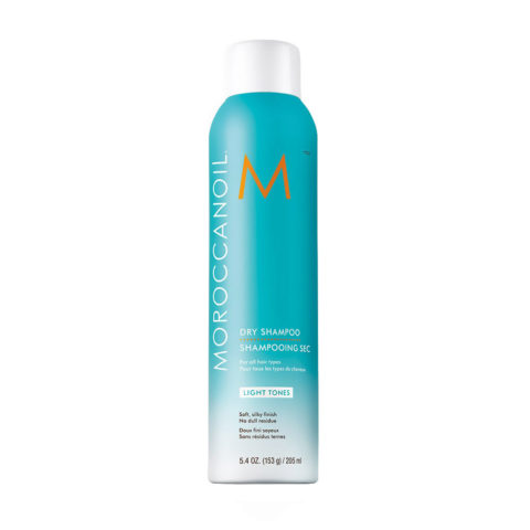 Moroccanoil Dry shampoo Light tones 205ml - shampoo secco capelli chiari