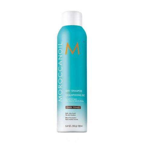 Moroccanoil Dry shampoo Dark tones 205ml - shampoo a secco capelli scuri