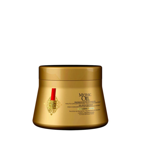 L'Oreal Mythic oil Rich masque 200ml - maschera idratante capelli grossi