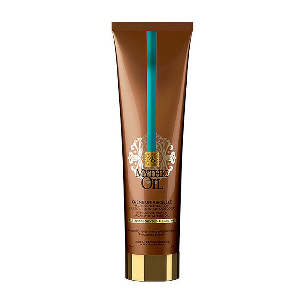 L'Oreal Mythic oil Crème universelle 150ml - crema idratante capelli secchi
