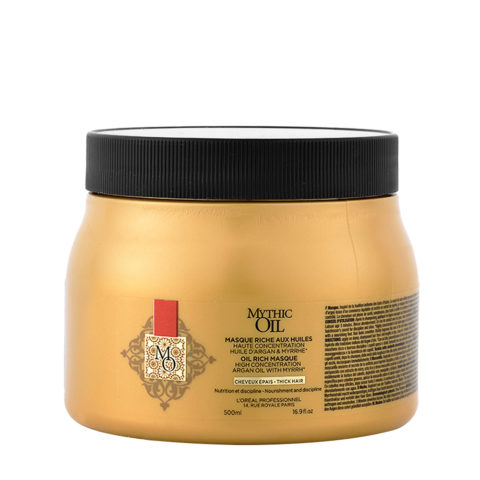 L'Oreal Mythic oil Rich masque Capelli grossi 500ml