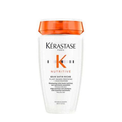 Kerastase Nutritive Bain satin 2 Irisome 250ml - shampoo per capelli secchi e sensibilizzati
