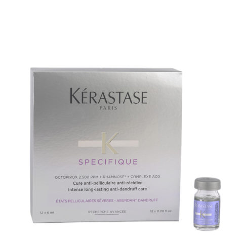 Kerastase Specifique Cure Anti-pelliculaire 12x6ml - fiale antiforfora