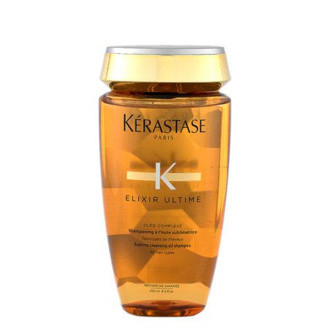 Kerastase Bain Elixir ultime Sublime cleansing oil shampoo 250ml