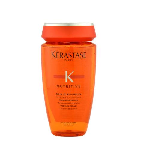 Kerastase Nutritive Bain Oleo-Relax 250ml - shampoo anticrespo per capelli secchi