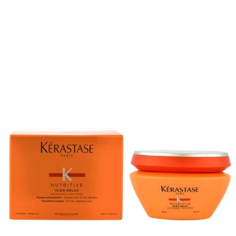 Kerastase Nutritive Masque Oleo-Relax 200ml - maschera anticrespo per capelli secchi