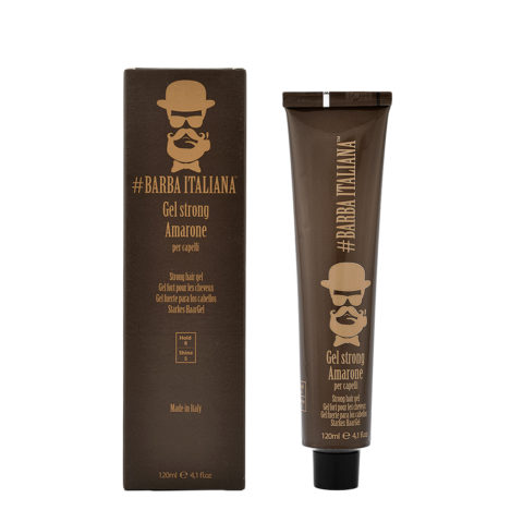 Barba Italiana Gel Strong per capelli Amarone 120ml