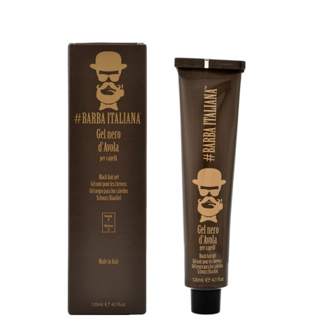 Barba Italiana Gel per capelli Nero d'Avola 120ml