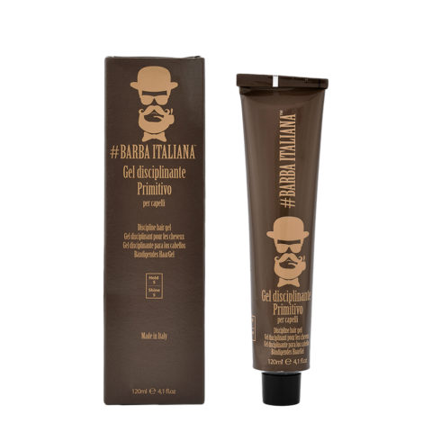 Barba Italiana Gel Disciplinante per capelli Primitivo 120ml