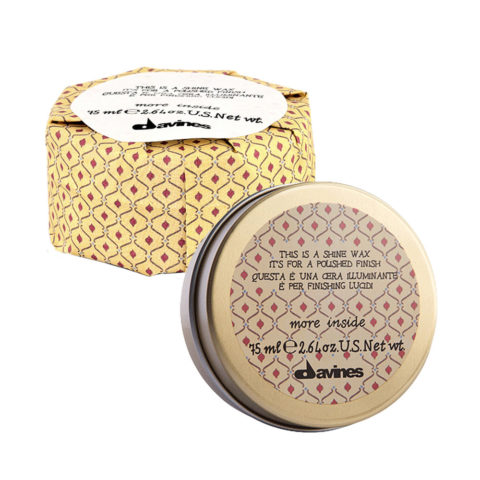 Davines More inside Shine wax 75ml - Cera effetto lucido