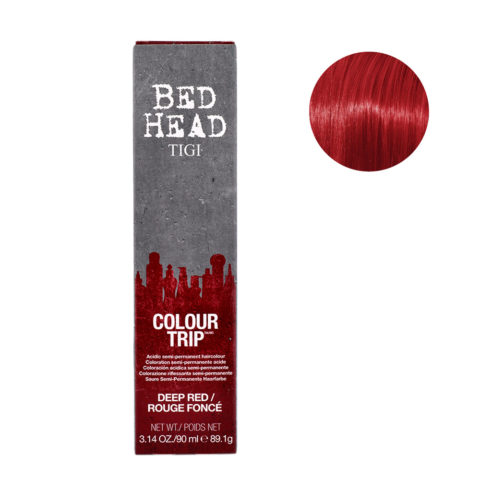 Tigi Colour Trip Deep Red 90ml - rosso intenso