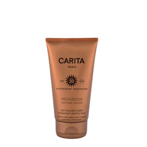 Carita Skincare Lait Corps Hydratant Protecteur SPF 20, 150ml - latte protettore idratante