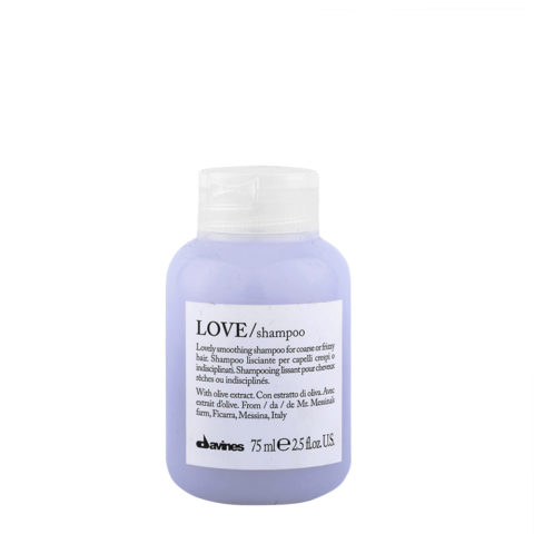 Davines Essential hair care Love smooth Shampoo 75ml - Shampoo lisciante