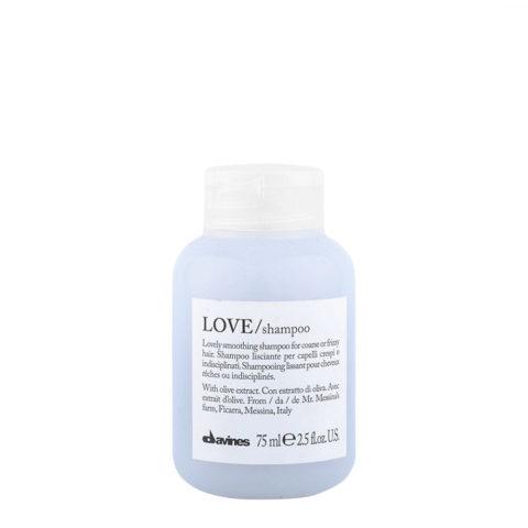 Davines Essential hair care Love smooth Shampoo 75ml - Shampoo lisciante