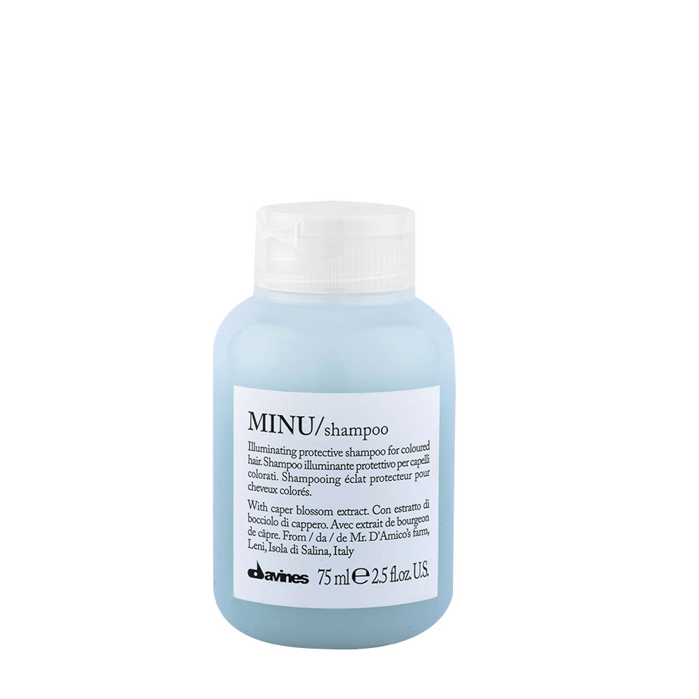 Davines Essential hair care Minu Shampoo 75ml - shampoo illuminante