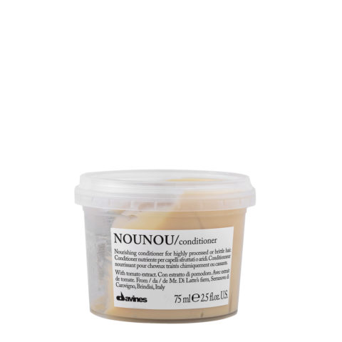 Davines Essential hair care Nounou Conditioner 75ml - balsamo nutriente