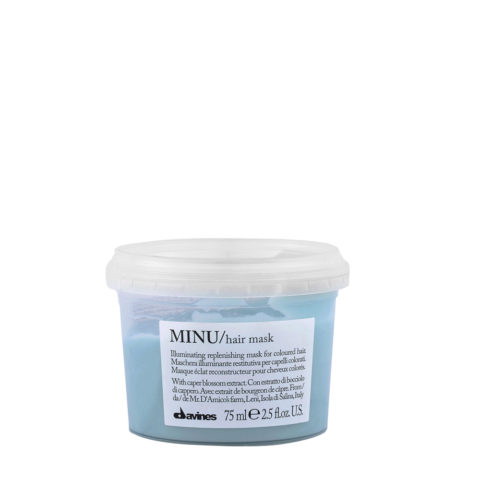Davines Essential hair care Minu Hair mask 75ml - Maschera illuminante