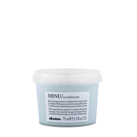 Davines Essential hair care Minu Conditioner 75ml - balsamo illuminante