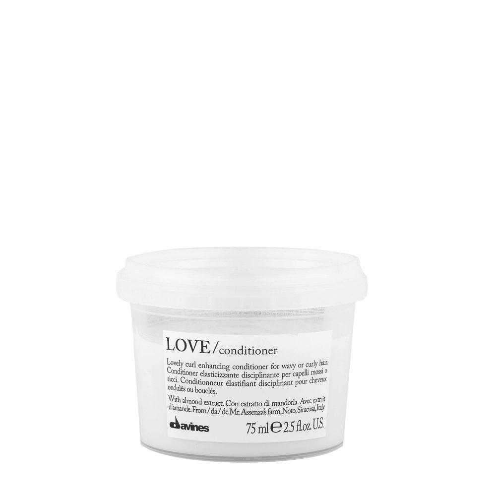 Davines Essential hair care Love curl Conditioner 75ml - balsamo disciplinante