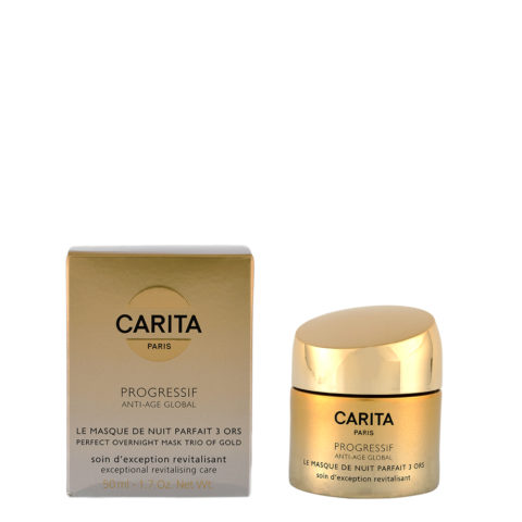 Carita Skincare Progressif Anti-age global La Masque de nuit parfait 3 ors 50ml - crema viso notte anti rughe