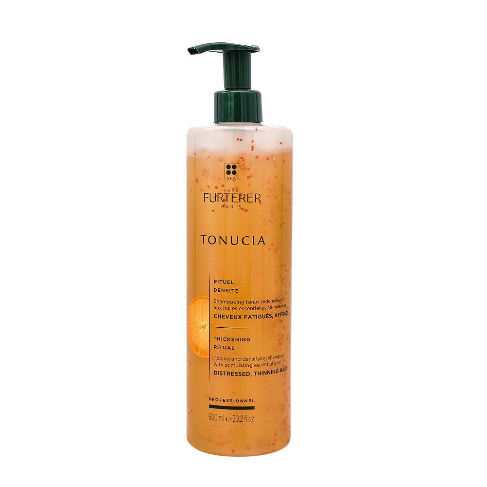 René Furterer Tonucia Toning and densifying shampoo 600ml - Shampoo tonificante densificante