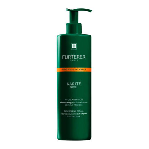 René Furterer Karité Intense Nourishing Shampoo 600ml - shampoo nutrimento intenso