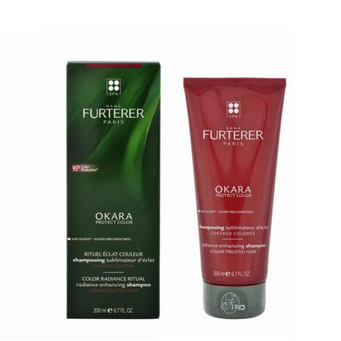 René Furterer Okara Radiance Enhancing Shampoo 200ml - shampoo per capelli colorati