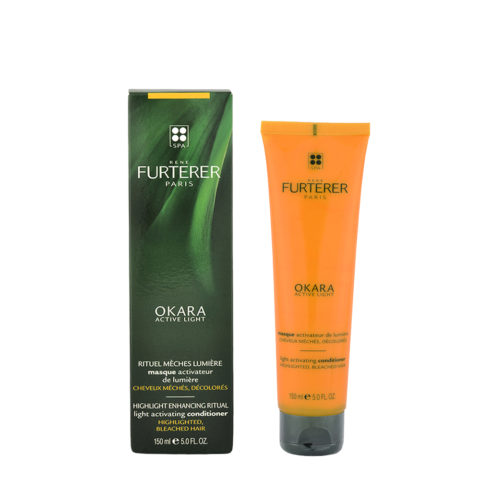 René Furterer Okara Light Activating Mask 150ml - maschera per capelli con  mèches aafd9822e846