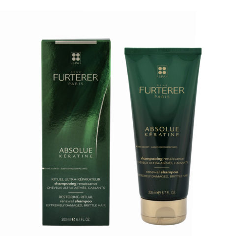René Furterer Absolue Kératine Shampoo Effetto rinascita 200ml