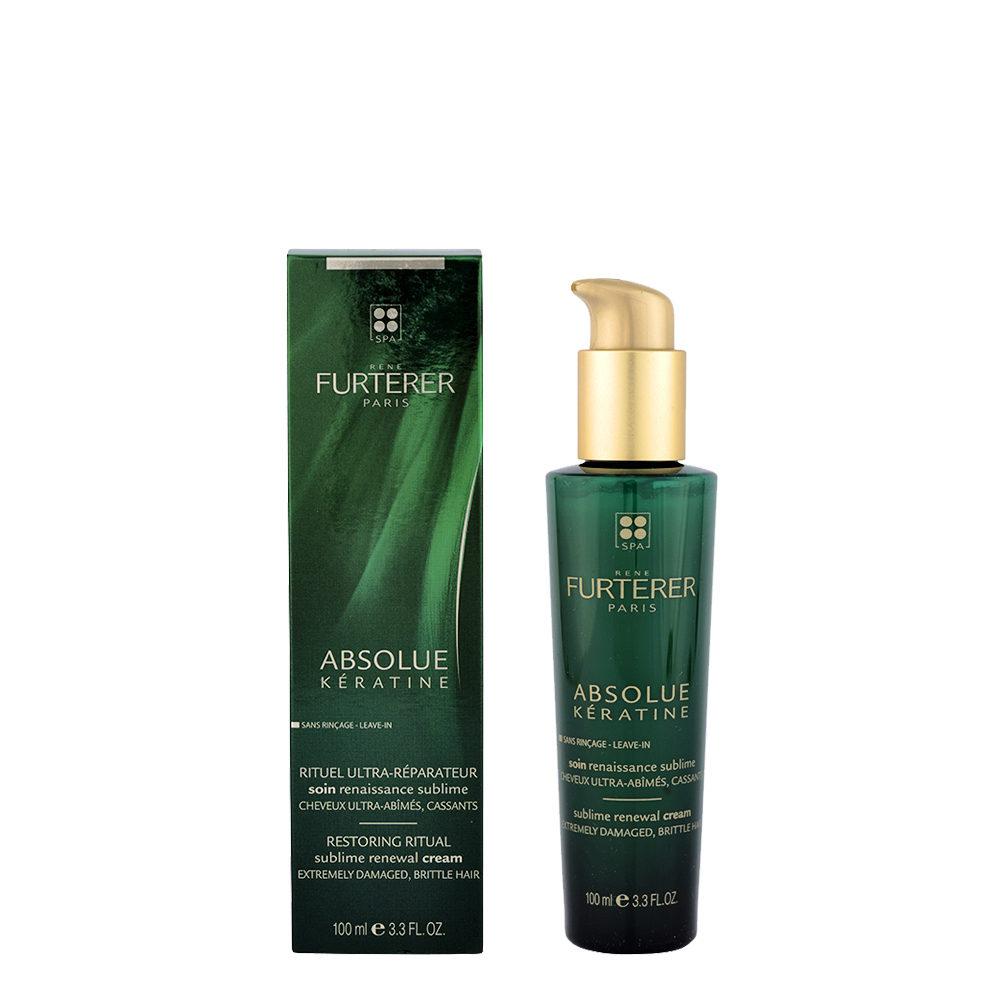 René Furterer Absolue Kératine Sublime Renewal Cream 100ml - Trattamento Sublime Effetto rinascita