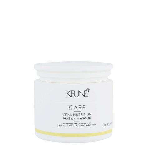 Keune Care Line Vital Nutrition Mask 200ml - maschera idratante per capelli secchi