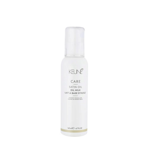 Keune Care Line Satin Oil Milk 140ml - latte spray illuminante idratante per capelli spenti