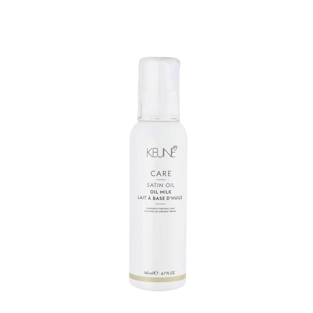 Keune Care Line Satin Oil Milk 140ml - latte spray illuminante idratante per capelli spenti