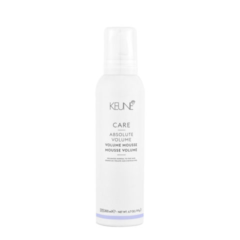 Keune Care Line Absolute Volume Mousse 200ml  - Mousse Volumizzante