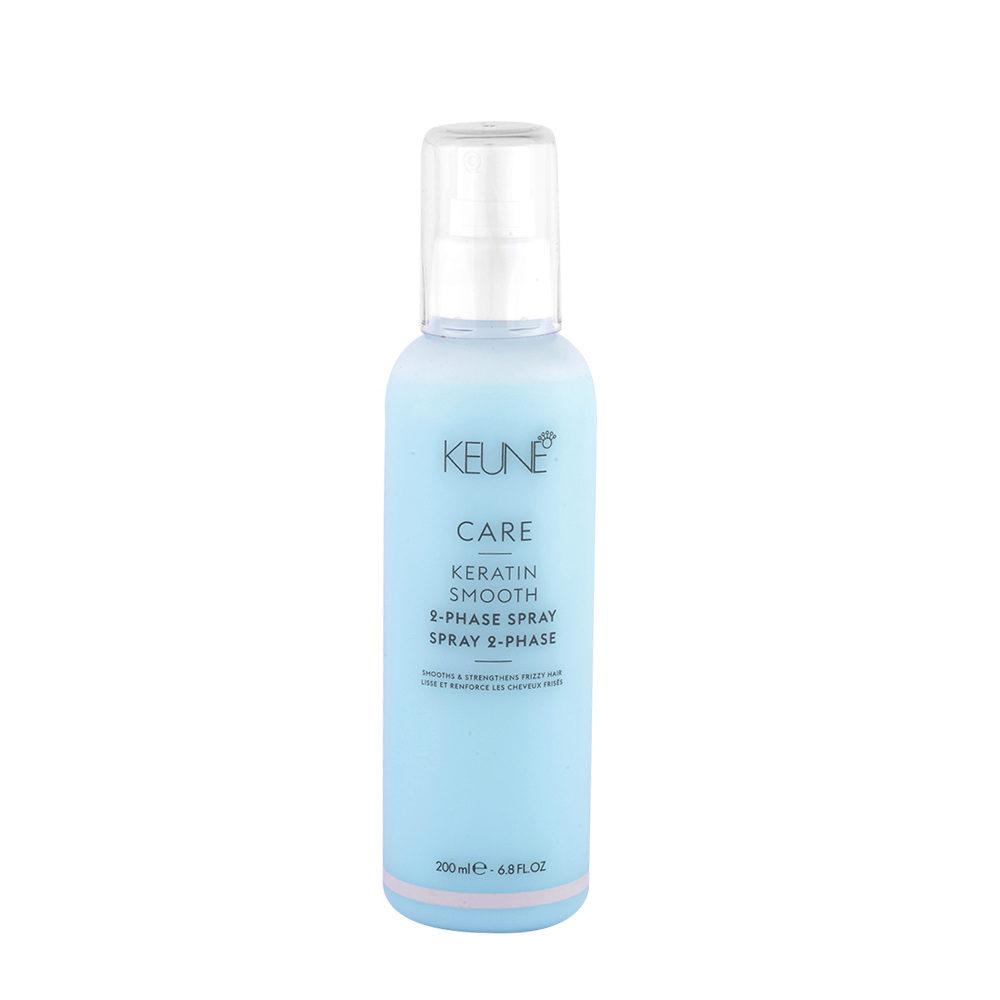 Keune Care Line Keratin smooth 2 Phase Spray 200ml - spray anticrespo idratante bifasico
