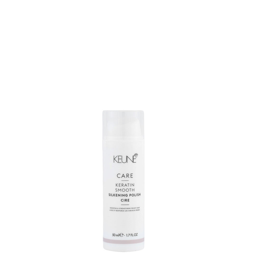 Keune Care Line Keratin smooth Silkening Polish 50ml - cera morbida setificante