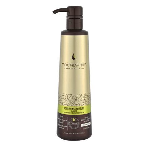 Macadamia Nourishing moisture Shampoo 500ml - shampoo idratante e nutriente