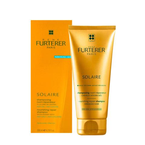 René Furterer Solaire Nourishing repair shampoo 200ml - shampoo nutri-riparatore doposole
