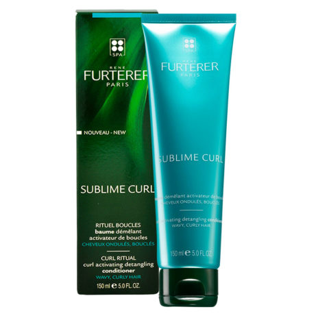 René Furterer Sublime Curl Activating Detangling conditioner 150ml - conditioner districante attivatore di ricci
