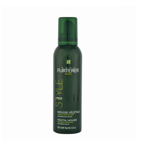 René Furterer Styling Vegetal mousse volume and hold 200ml - mousse vegetale fissante