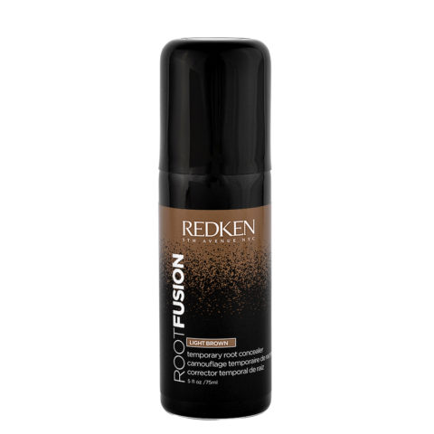 Redken Root Fusion Light Brown 75ml - correttore ricrescita castano chiaro