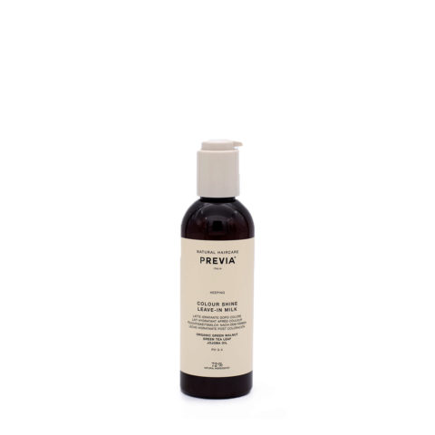 Previa Keeping Organic Colour Shine Leave in Milk 200ml - siero capelli colorati