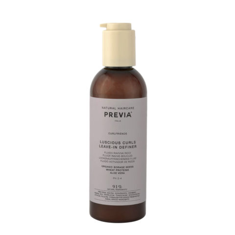 Previa Curlfriends Organic Borage Glycerides Antifrizz Leave-in Definer 200ml