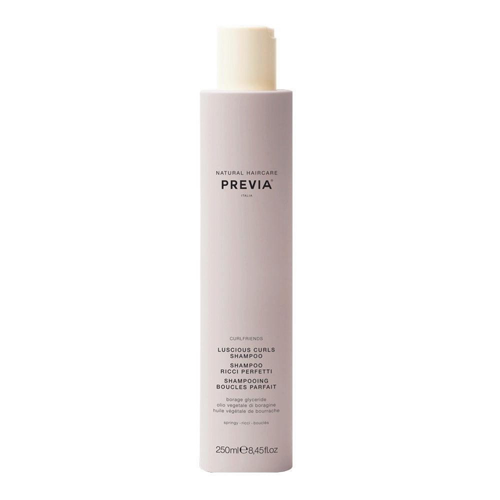 Previa Curlfriends Luscious Curls Shampoo 250ml - shampoo ricci