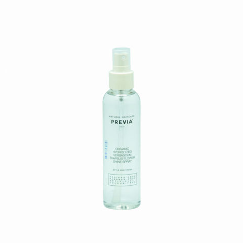 Previa Finish Organic Hydrolized Verbascum Thapsus Flower Shine spray 150ml - spray illuminante