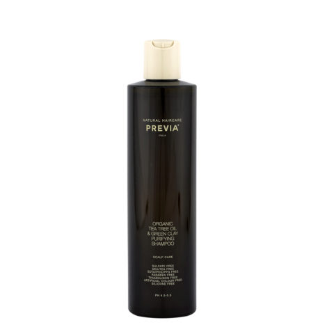 Previa Extra>Life Tea Tree Oil & Green Clay Purifying Shampoo 300ml