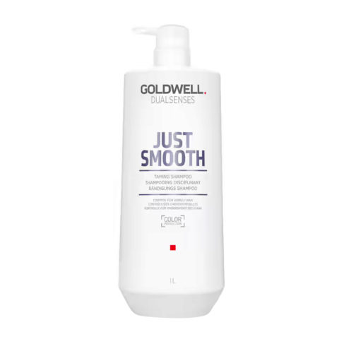 Goldwell Dualsenses Just Smooth Taming Shampoo 1000ml - Shampoo anticrespo